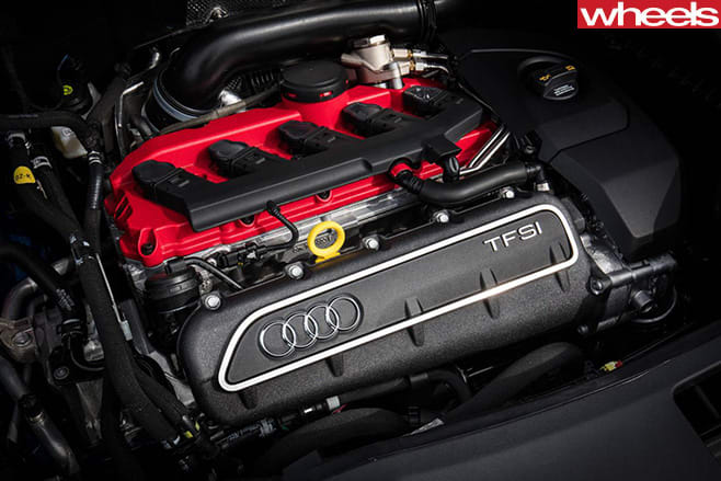 Audi -RS3-TFSI-engine