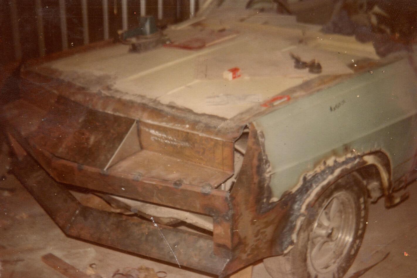 Holden HD front rebuild