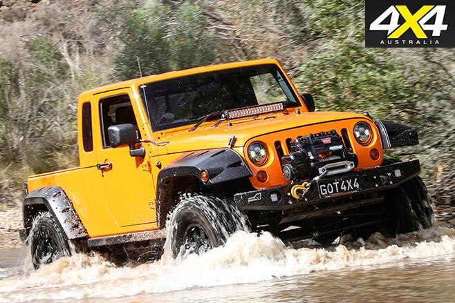 Jeep Wrangler ute custom