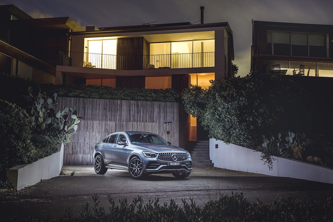 Mercedes AMG GLC 43 Review Front Static Jpg