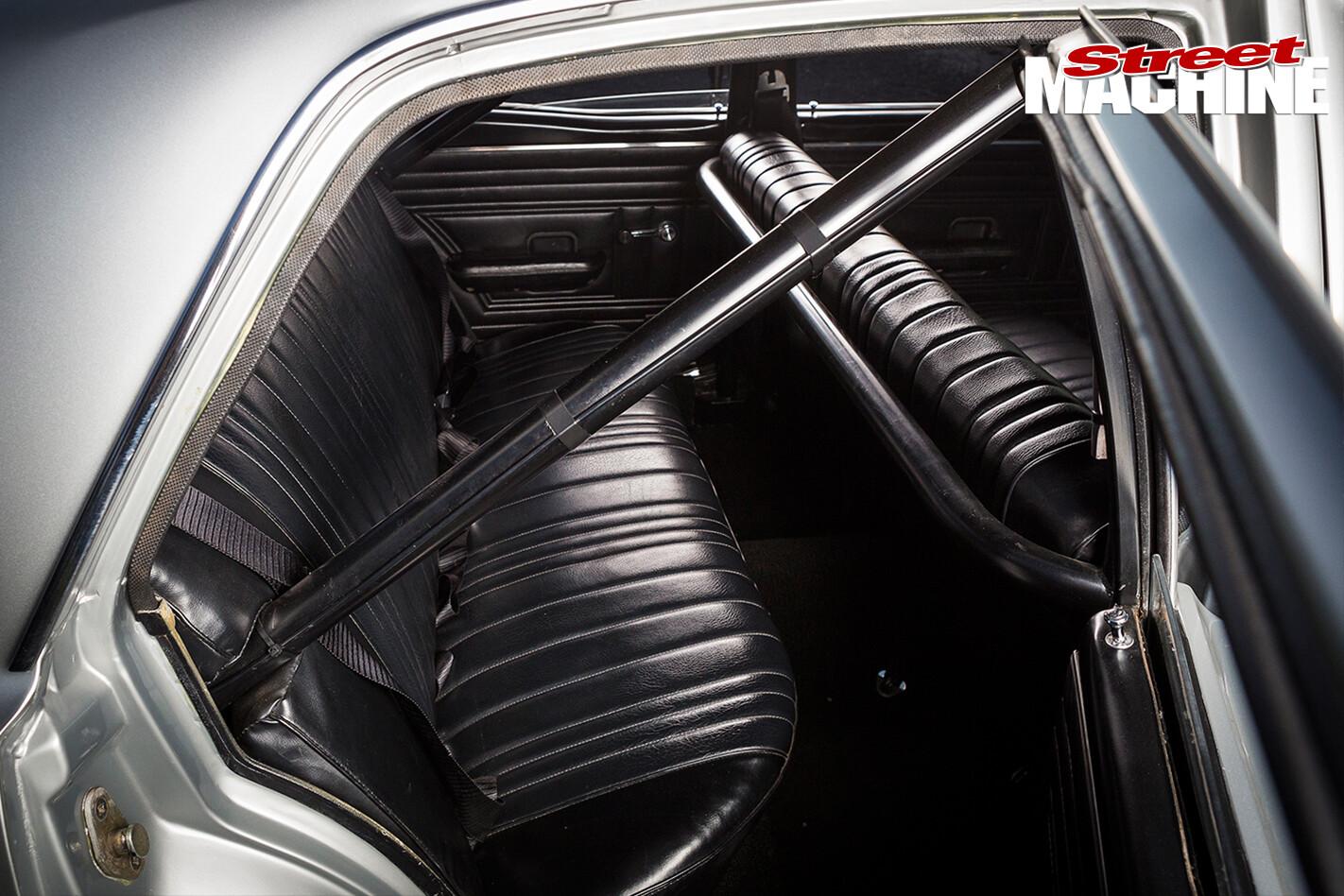 1970-Ford -XW-Falcon -interior -rear