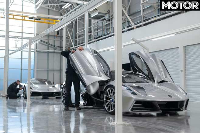Lotus Evija Production Jpg