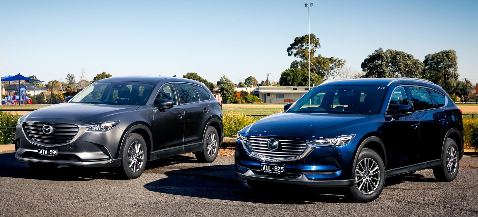 Mazda CX-9 and CX-8 comparison