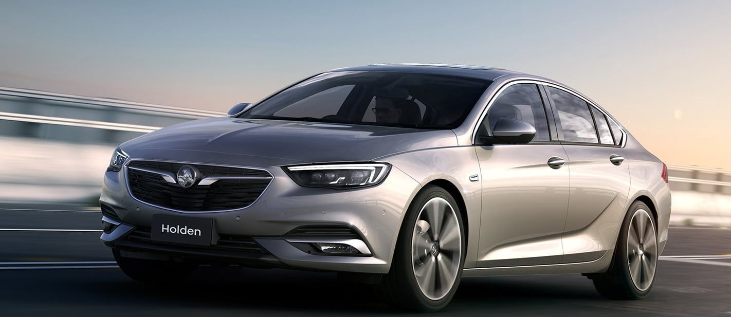 Silver Holden Commodore Front Side Jpg