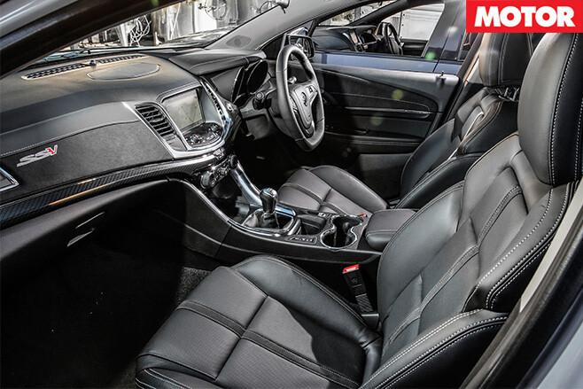 Holden VFII SSV Redline interior