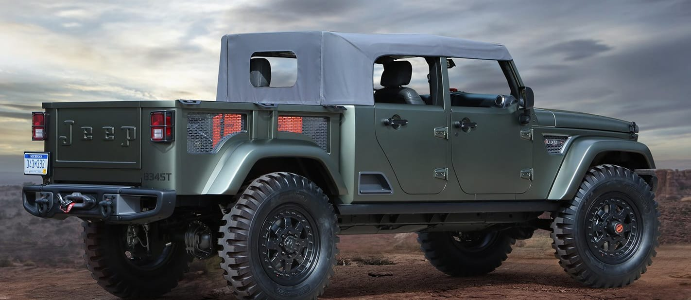 Jeep Concept Green Side Jpg