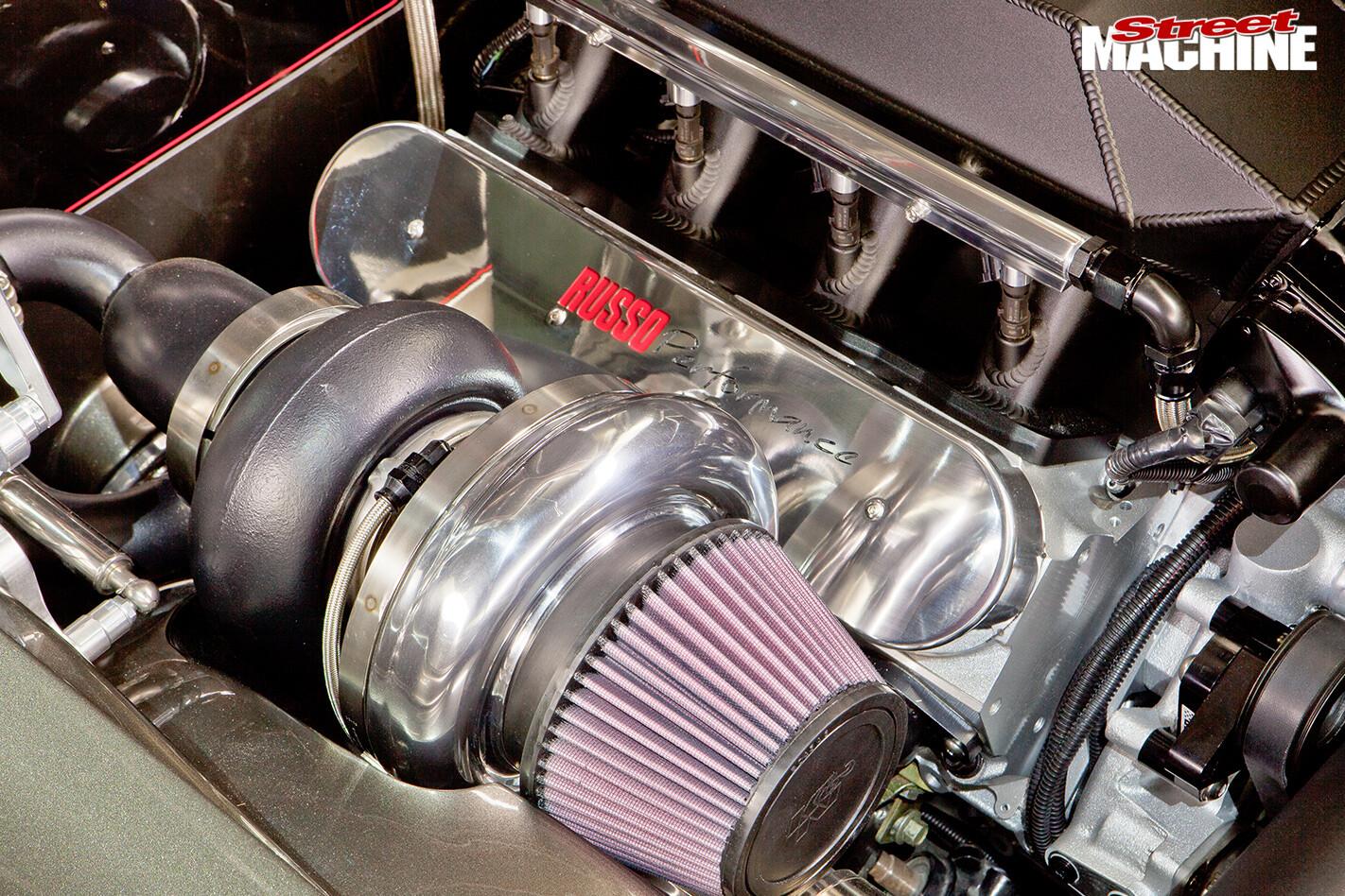 Chevrolet -camaro -engine -detail