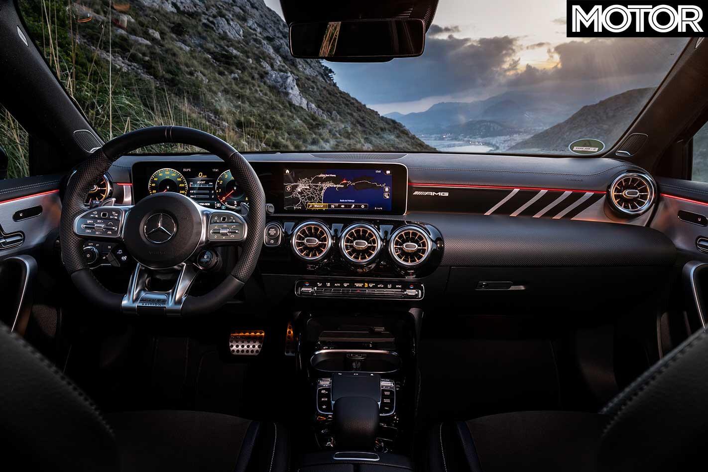 2019 Mercedes AMG A 35 Interior Jpg