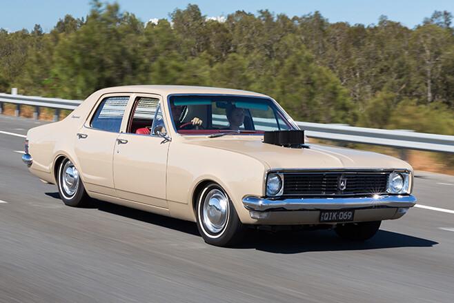 Holden HT onroad