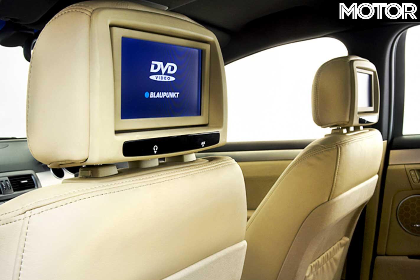2006 Holden WM Caprice Rear Seat Entertainment Jpg