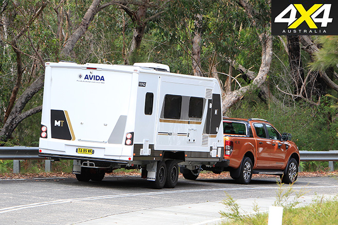 Ford Ranger and Avida Topaz Van rear