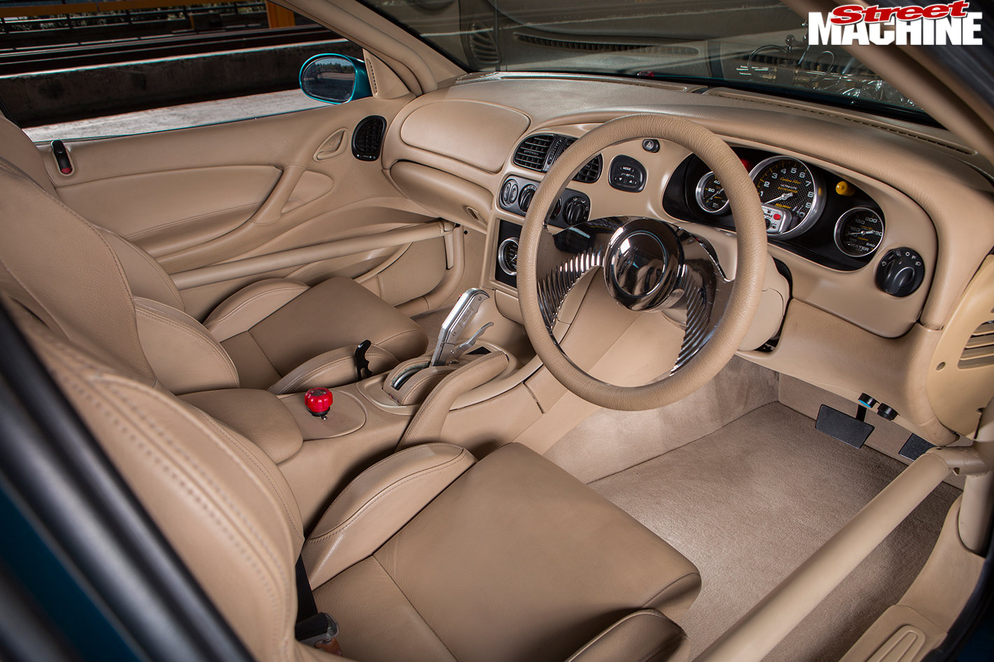 Holden -SS-ute -interior -front