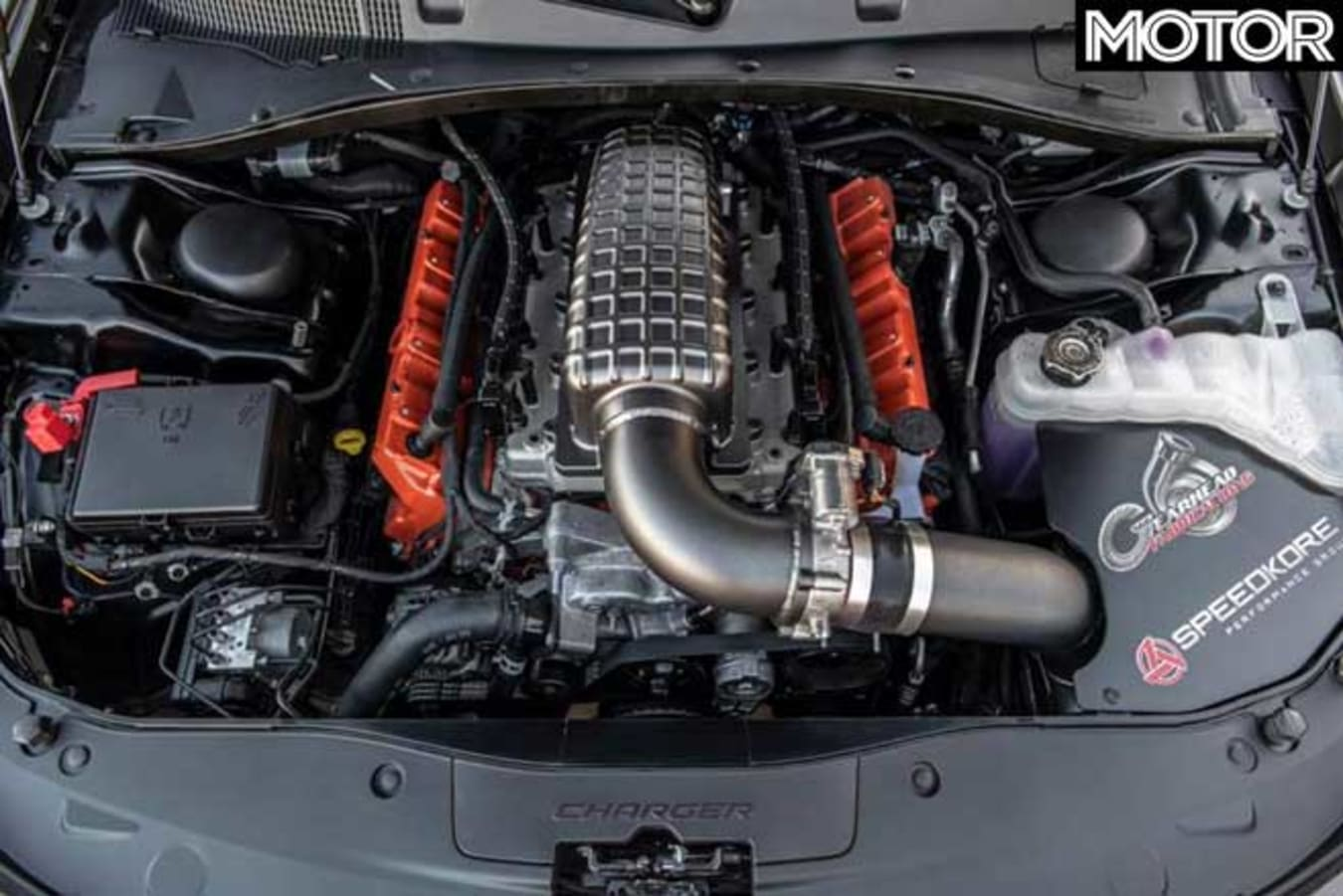 Speedkore Twin Turbo AWD Carbon Fibre Charger Engine Jpg