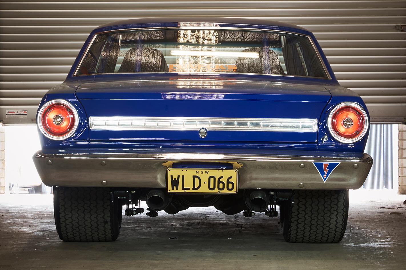 Ford Futura sports coupe rear