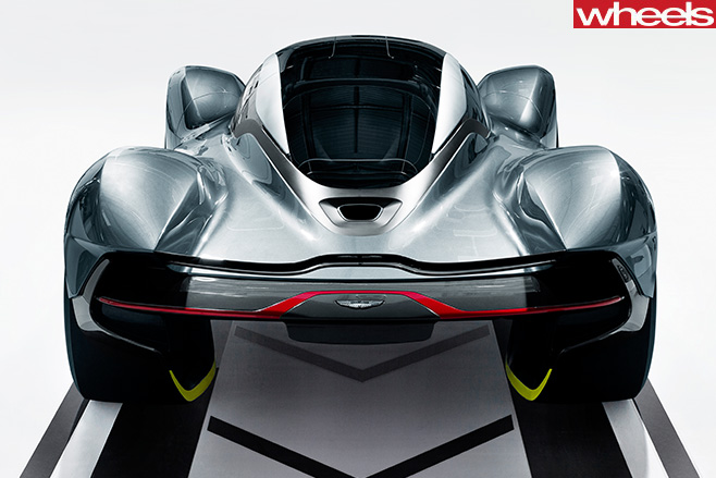 Aston Martin Red Bull AM-RB 001 Rear View