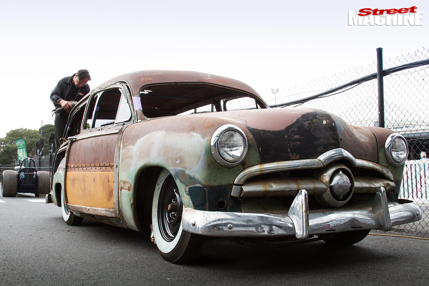 1950 ford squire wagon