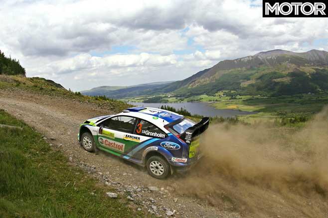 Marcus Gronholm Focus WRC Gravel Jpg