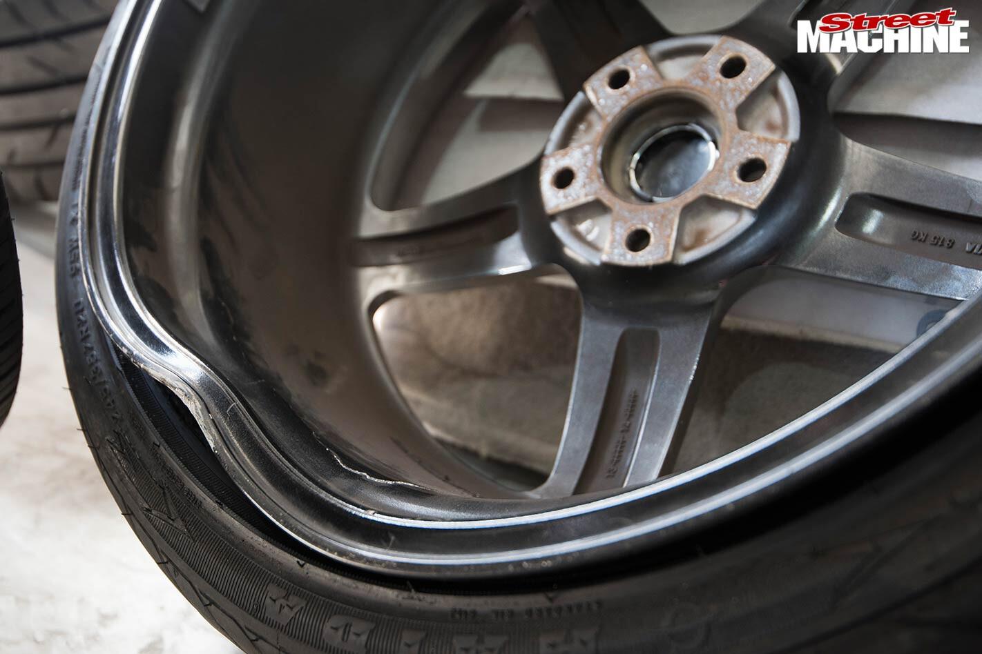 wheel damage