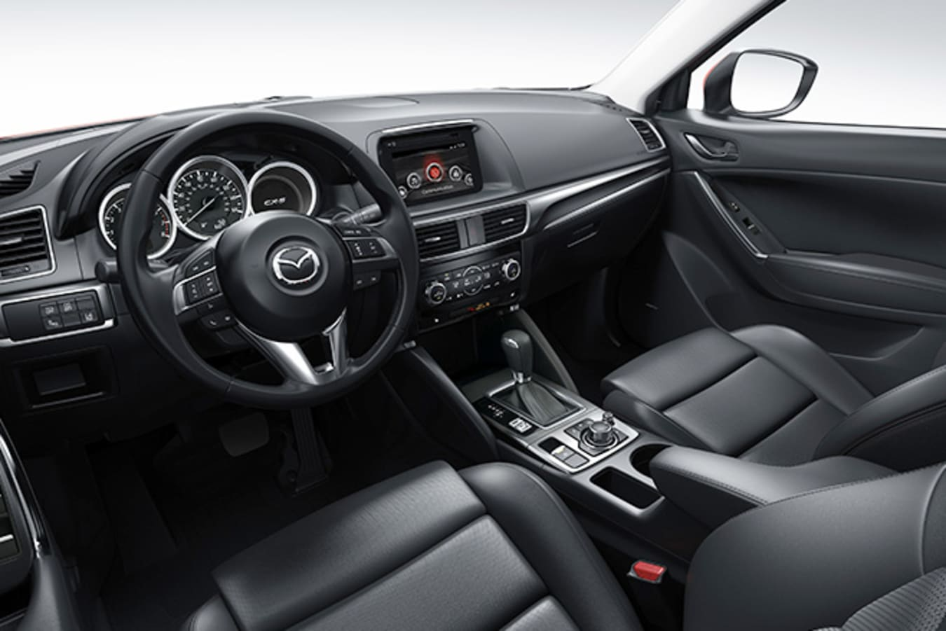 Mazda CX-5 Interior as seen from driver's seat