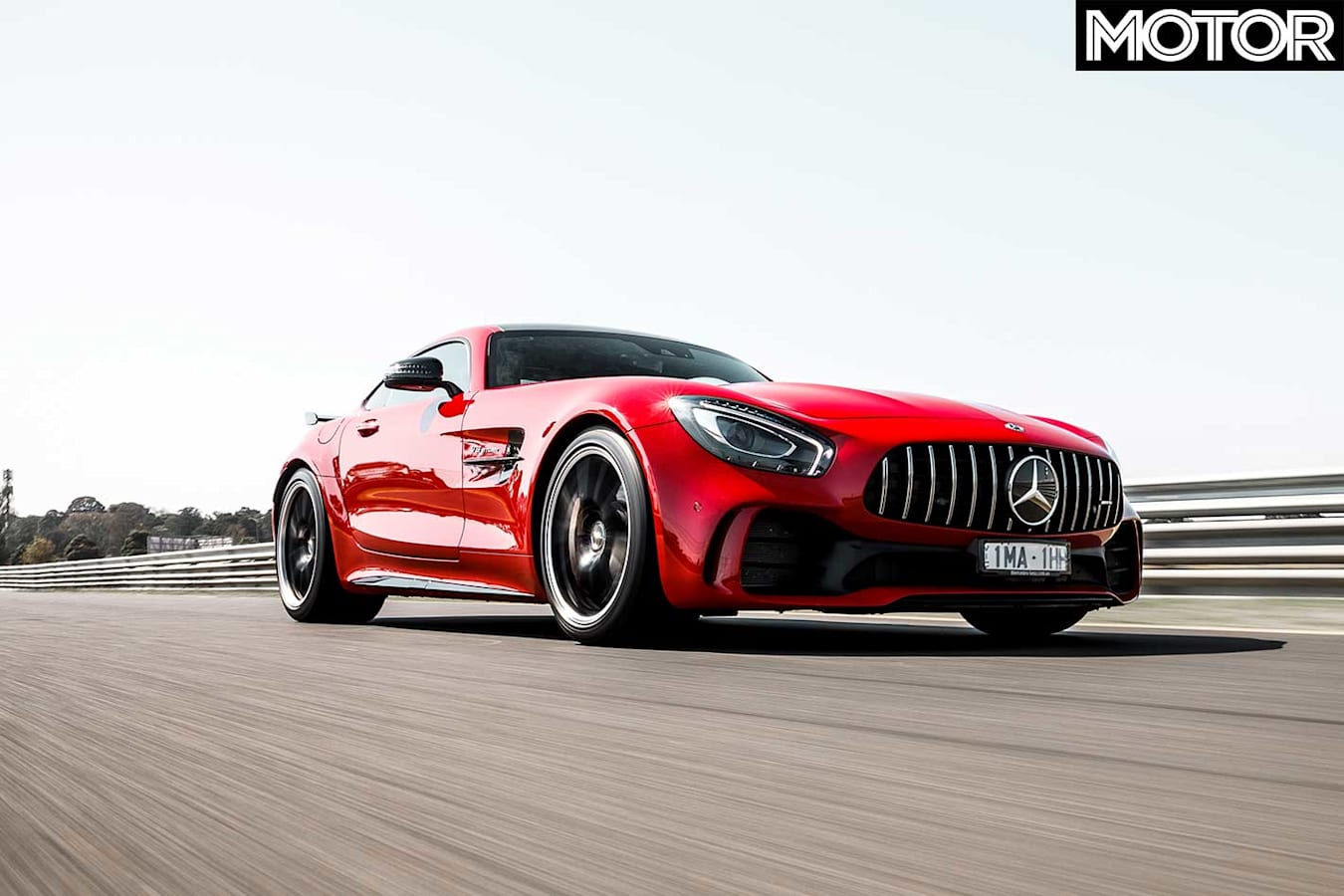 2019 Mercedes AMG GT R 12 Hours Review Track Straight Performance Jpg