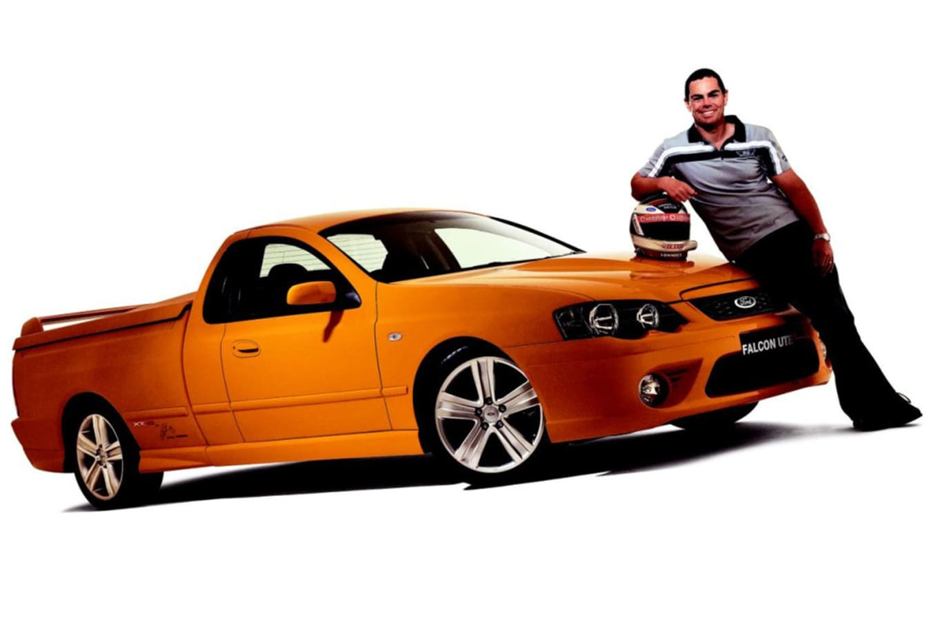 Ford Falcon Ute Craig Lowndes Embed Jpg
