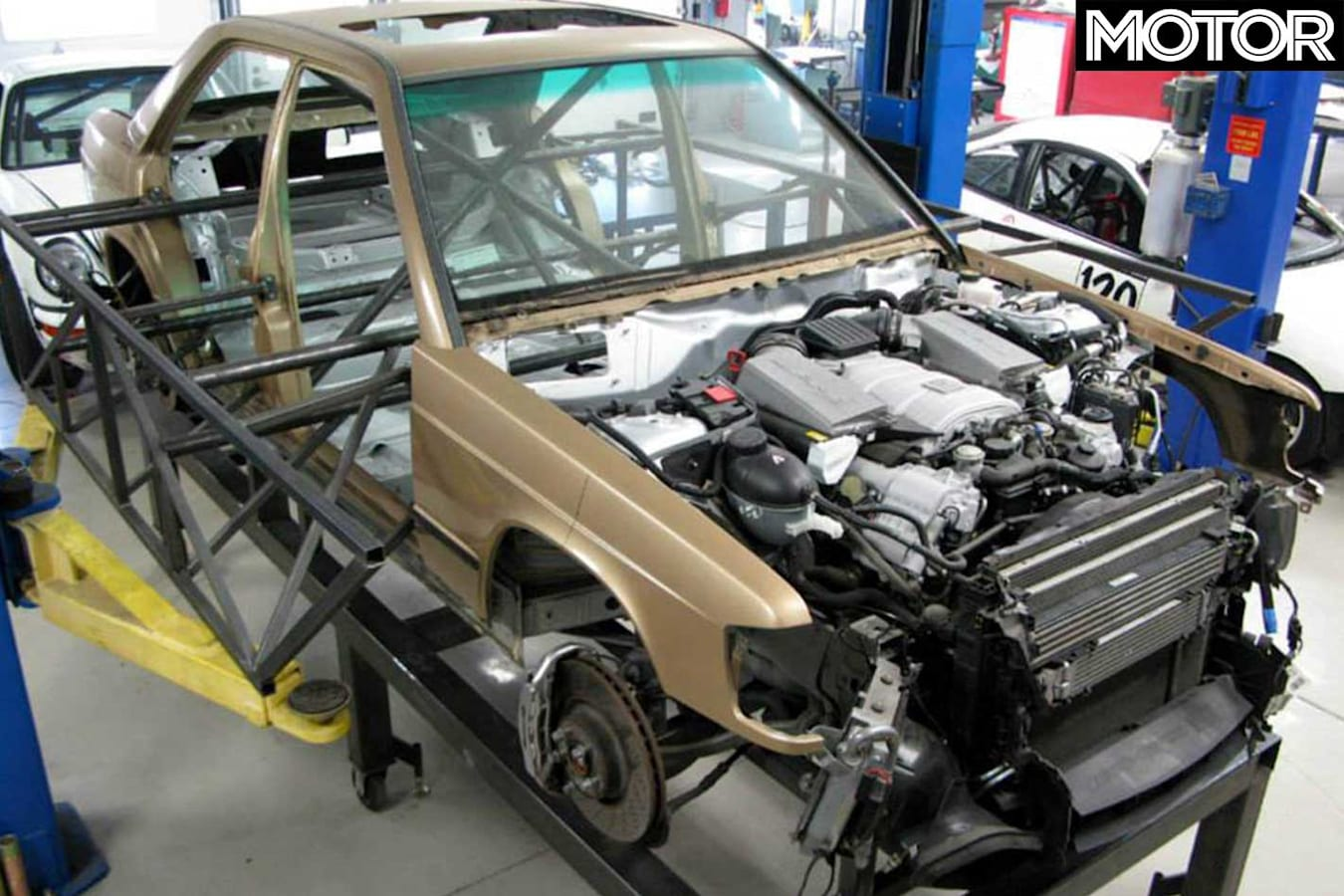 2008 Mercedes Benz C 63 AMG Chassis 190 E Body Fitted Jpg