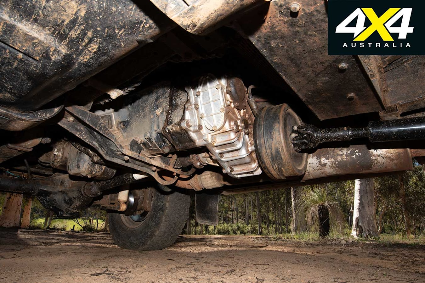 Custom Land Rover FC 101 Transfer Case Jpg