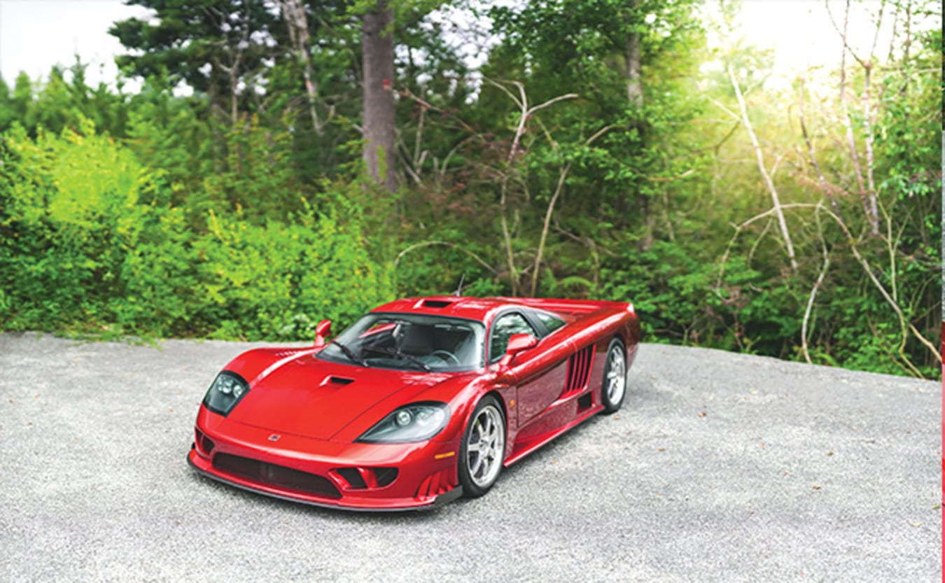 2005 Saleen S7 Twin Turbo red