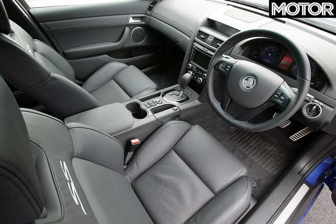 Holden Commodore VE Interior Jpg