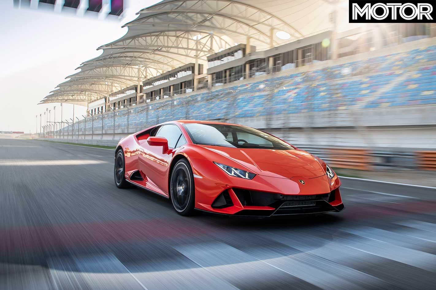 2019 Lamborghini Huracan Evo Track Handling Front Jpg