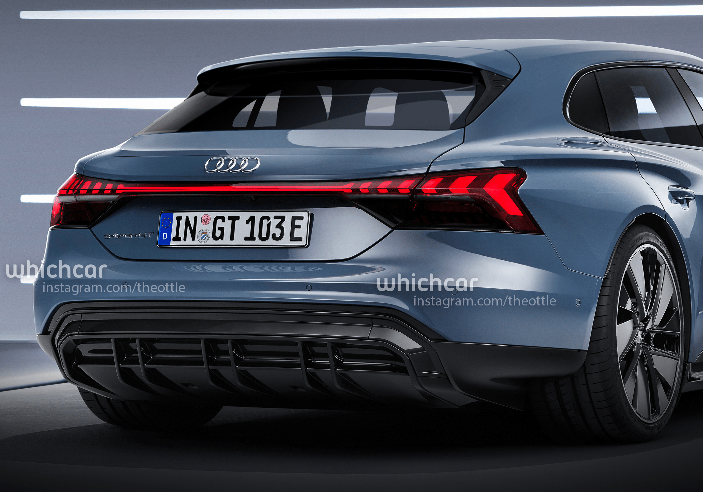 2021 Audi E Tron Gt Avant Rendering Theophilus Chin Whichcar 02 Copy Png