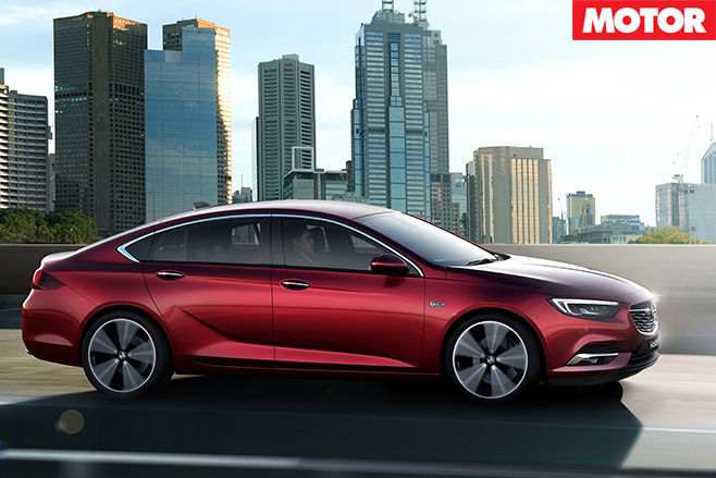 2018 Holden NG Commodore side