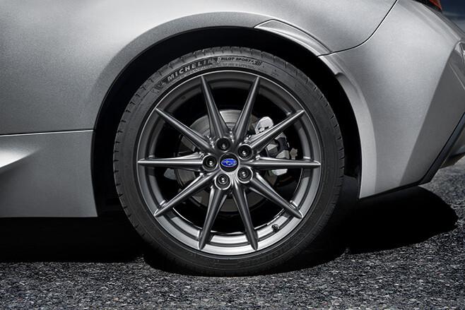 2021 Subaru BRZ wheels