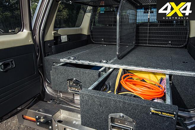 Nissan Patrol Optimizer 6500 V8 boot