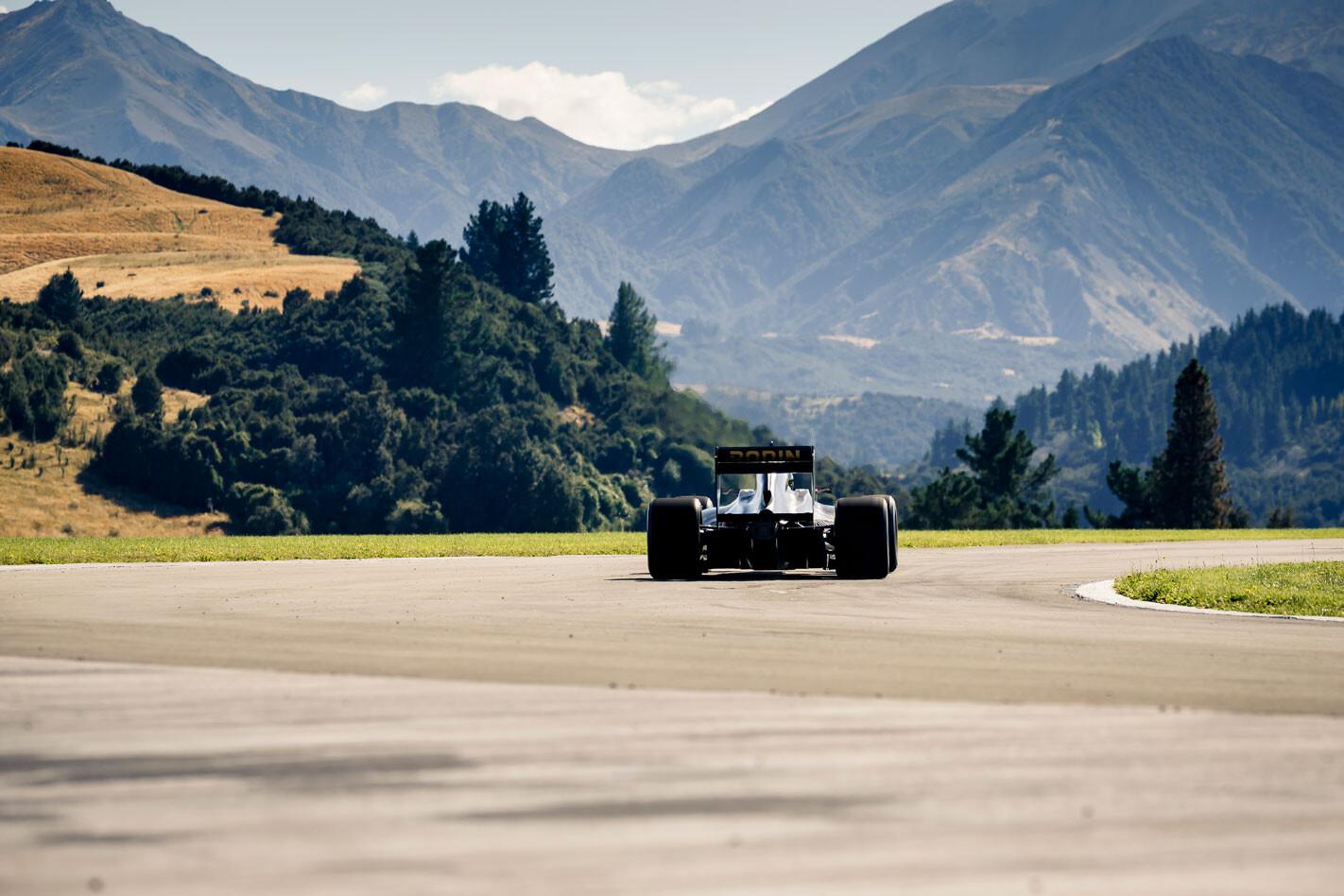 Rodin track testing in NZ
