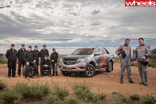 FINKE-2016-Mazda -BT-50-team -Wheels