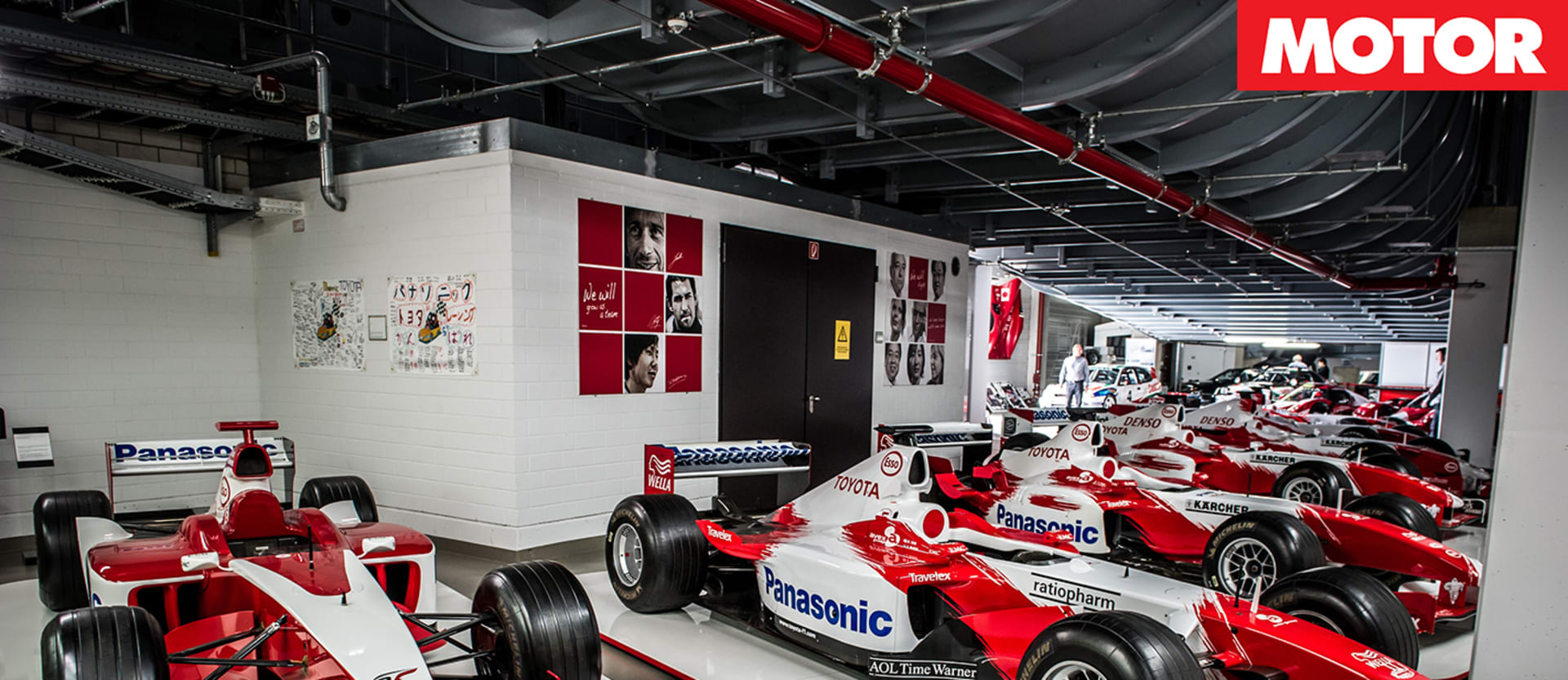 Toyota Motorsport gallery museum garage historic racing