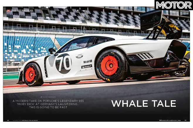 MOTOR Magazine October 2019 Issue 2019 Porsche 911 935 Track Test Jpg