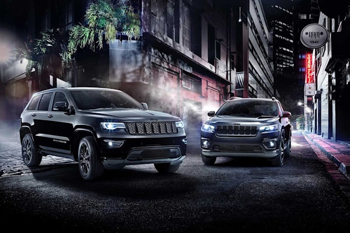 Jeep Cherokee and Grand Cherokee Night Eagle package