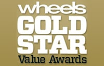 WHEELS GOLD STAR VALUE AWARDS