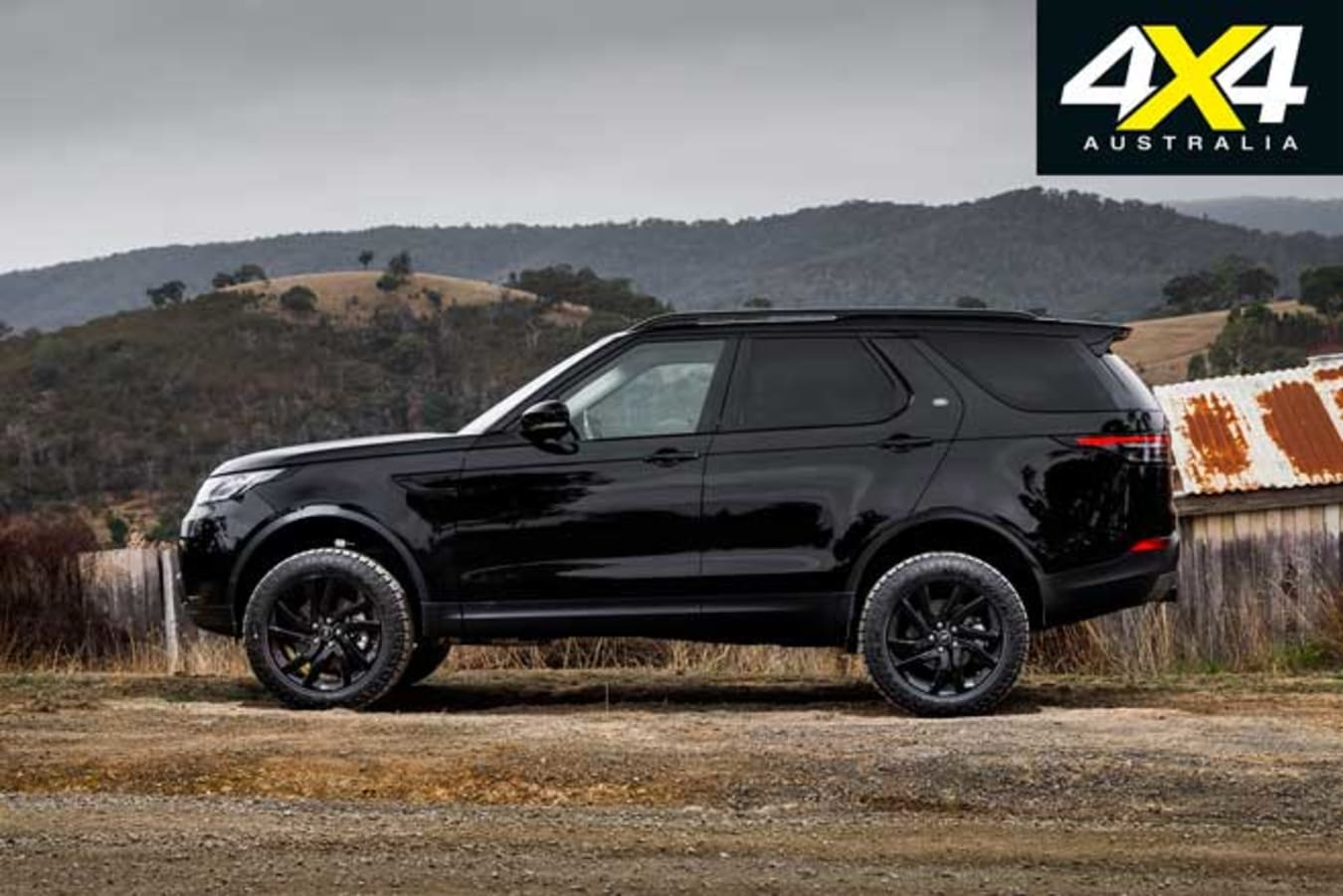 2019 Land Rover Discovery SD 4 Side Profile Jpg