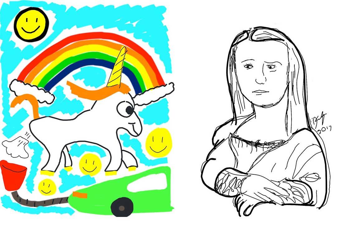 Tesla Sketch Pad Examples