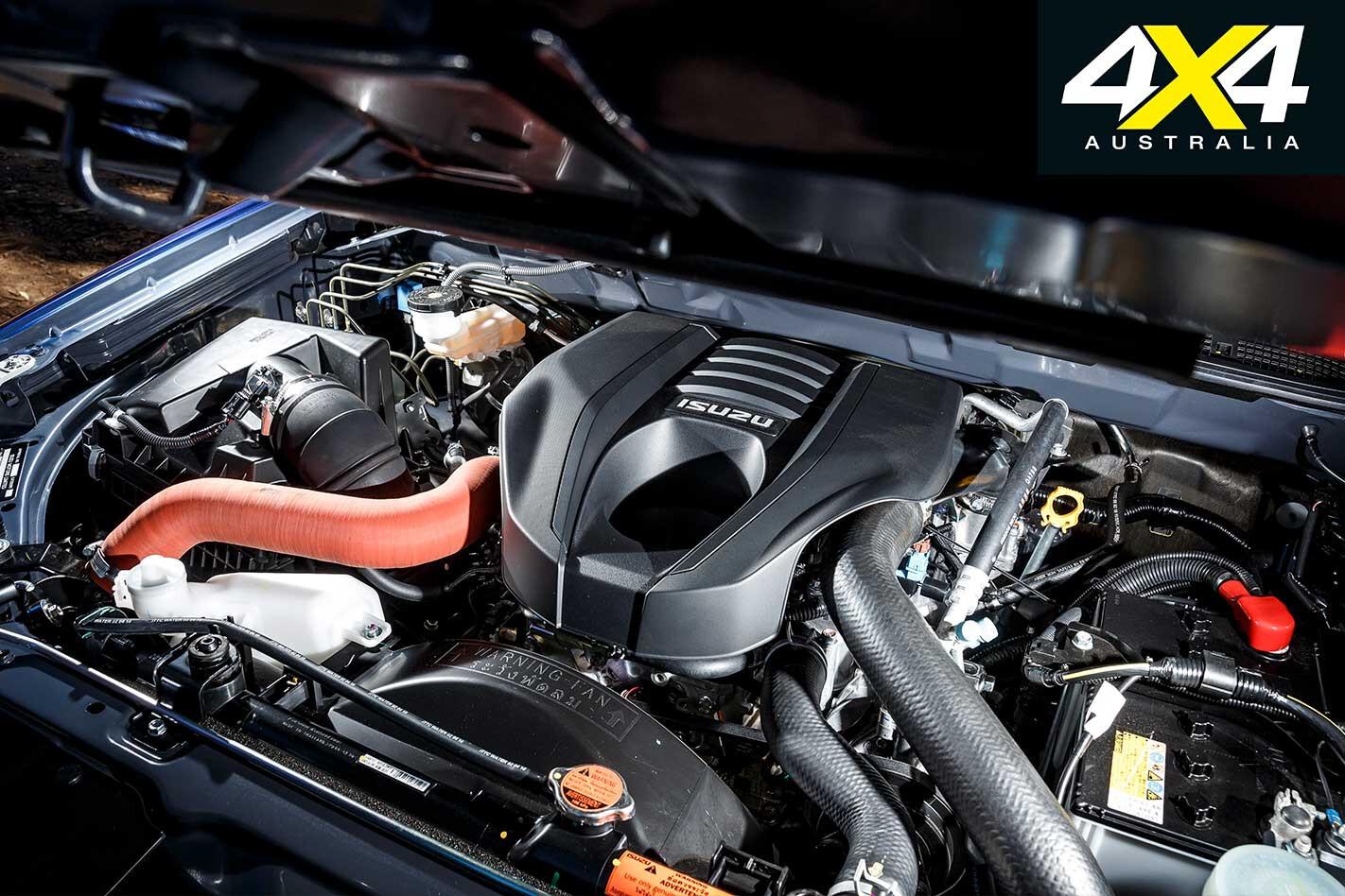 2018 Mega Ute Test Isuzu D Max Ls T Engine Jpg