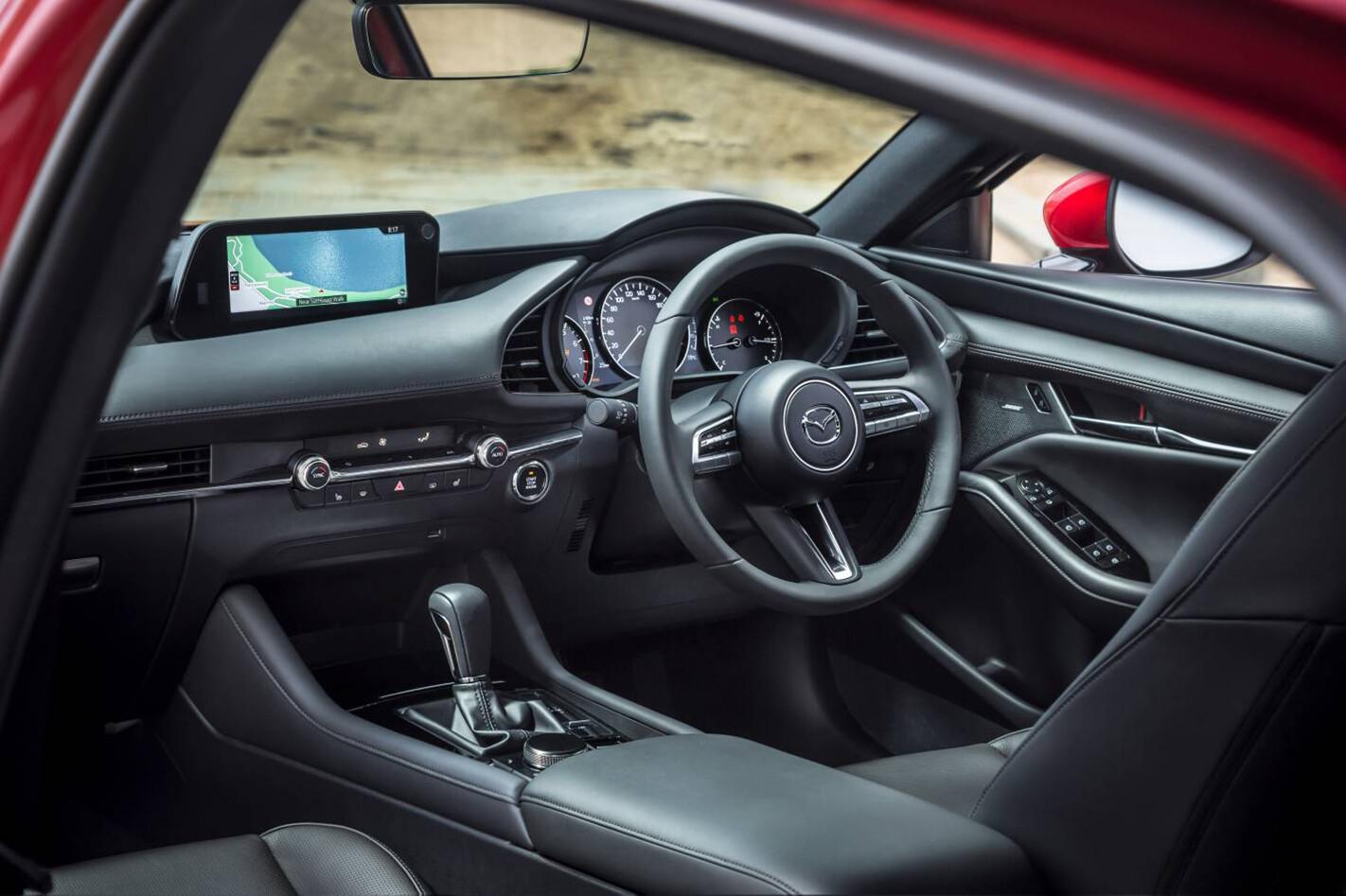 2019 Mazda 3 Astina Side Action Jpg