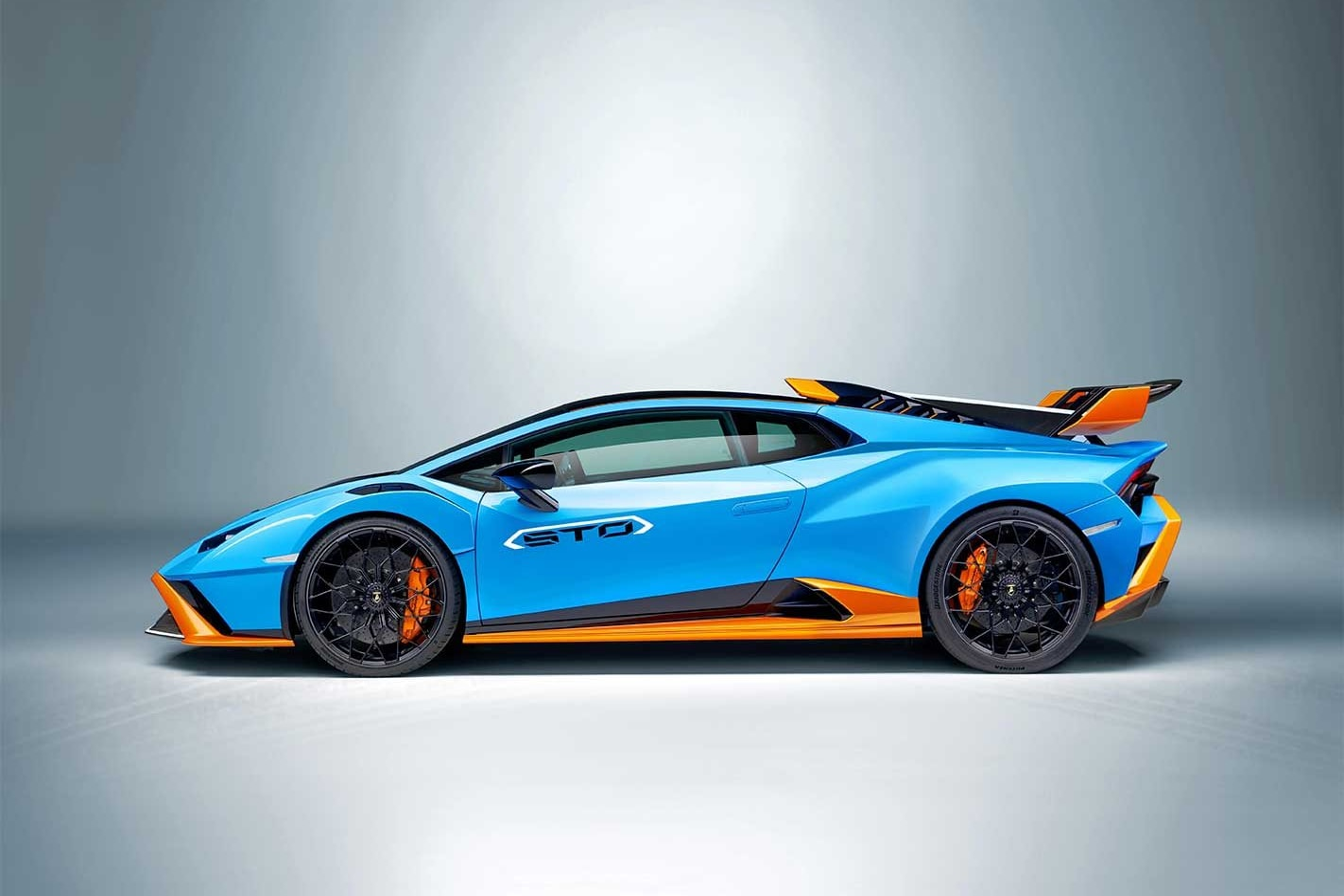 The new Lamborghini Huracan STO supercar