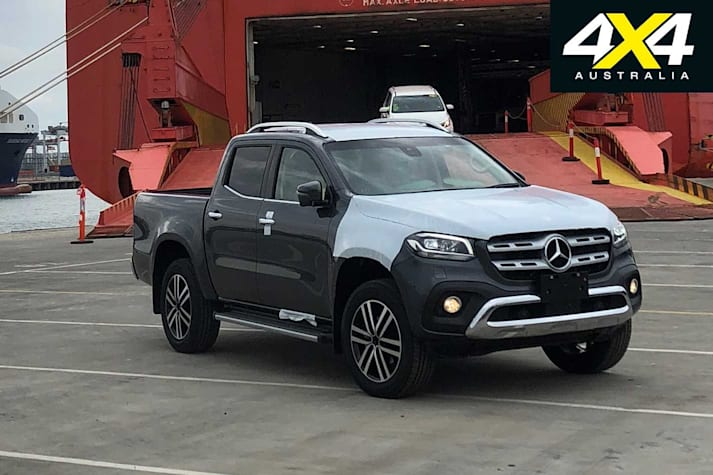 2018 Mercedes Benz X Class ute snapped in Melbourne news