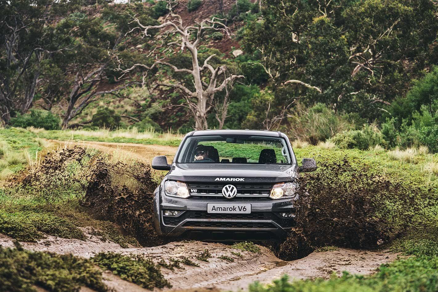 2020 Volkswagen Amarok V6 manual off-road