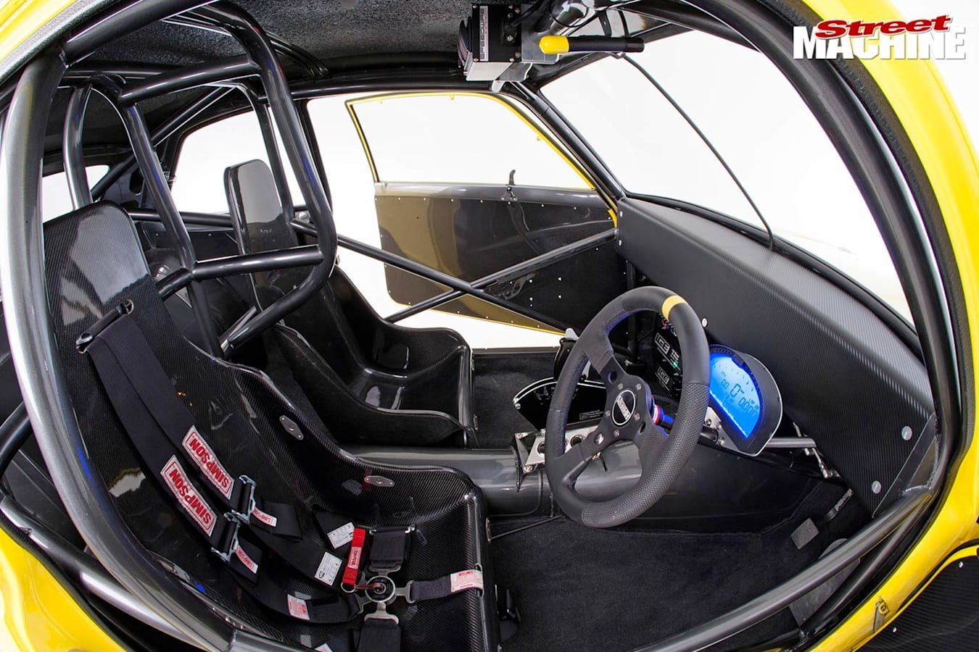 Holden LJ Torana interior