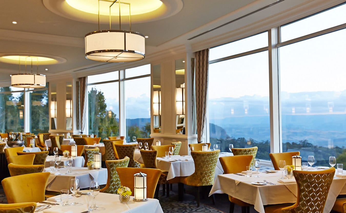 Hydro Majestic Hotel Dining Room