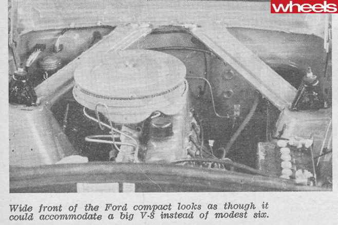 1960-Ford -Falcon -XK-engine -bay